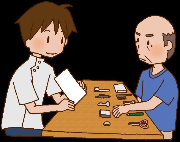 認知症の方に対する在宅での言語聴覚士の関わり
